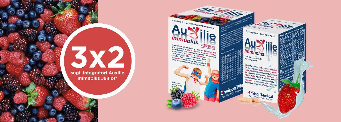 3x2 Auxilie Immuplus - Envicon Medical